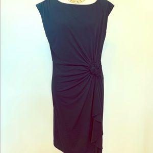 MIDNIGHT VELVET Little Black Dress Size 16